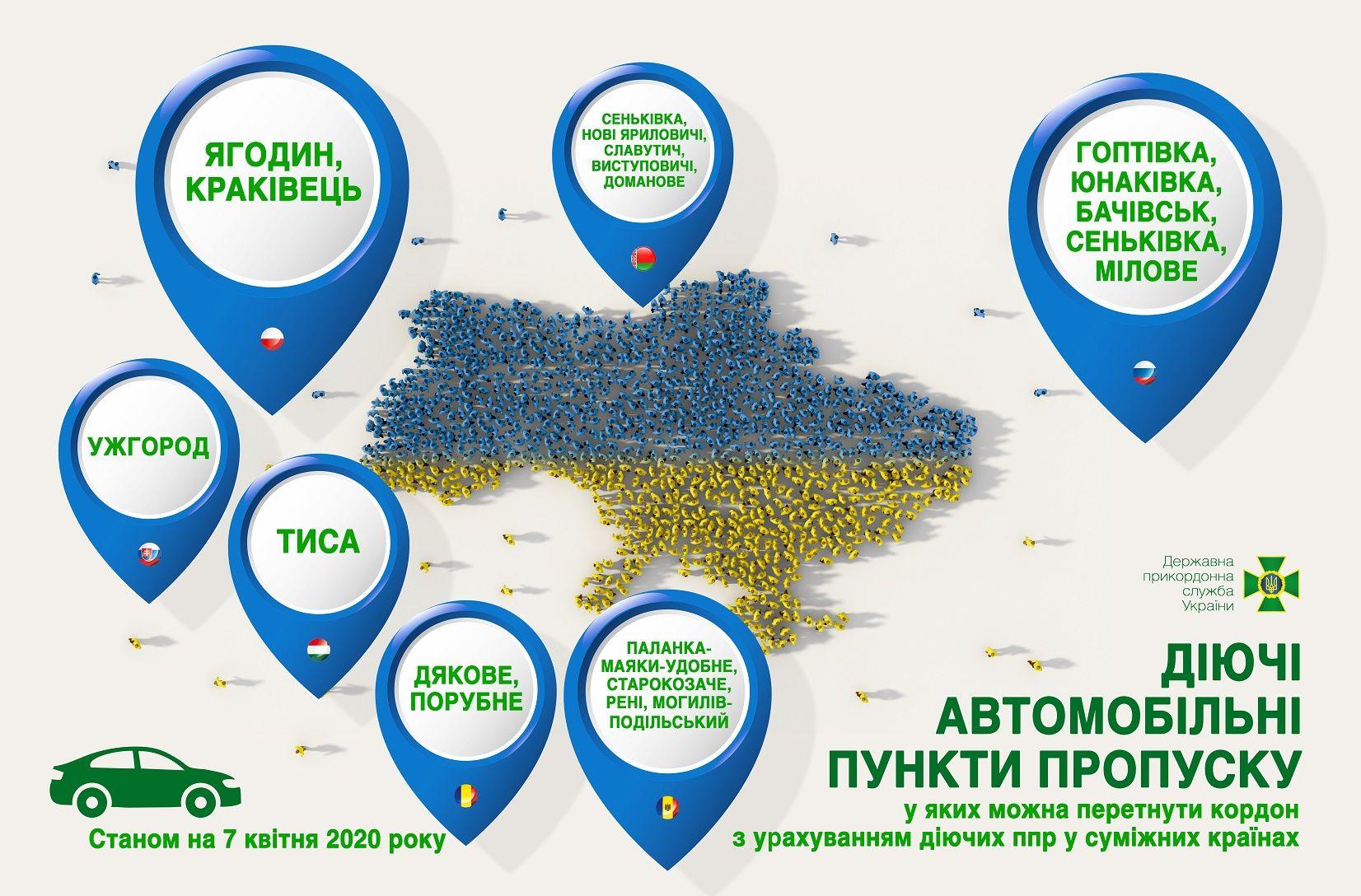 На Харківщині лишається єдиний пункт пропуску через кордон