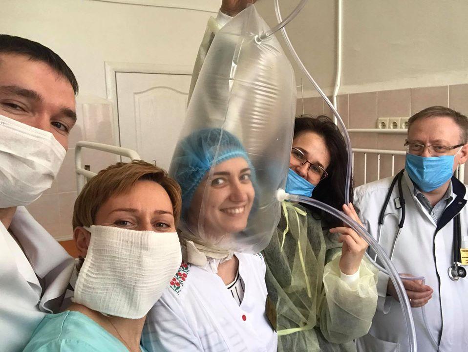 Пакет може врятувати: в Харкові лікарі вигадали заміну апарату ШВЛ