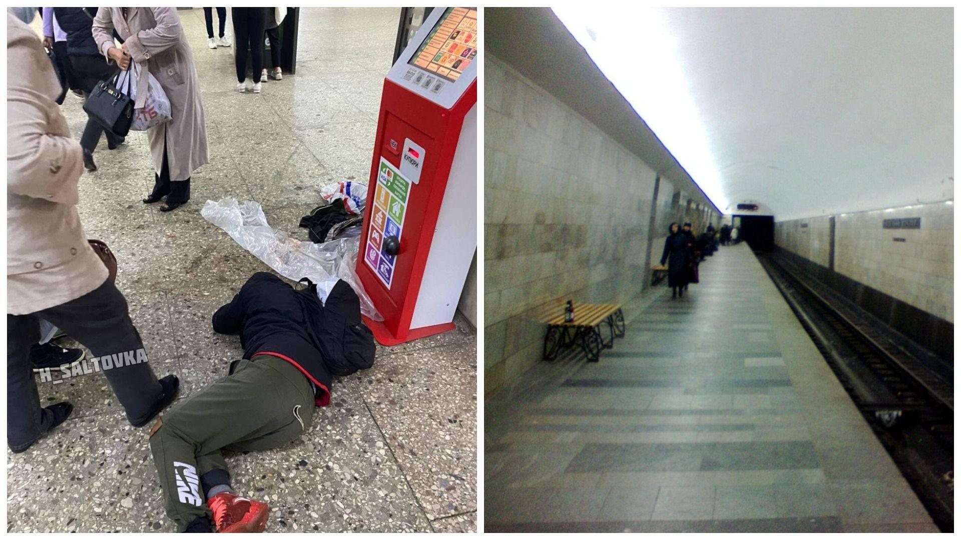 На станції метро Південний вокзал рятували пасажира
